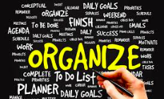 Being Organized is Good for Your Health